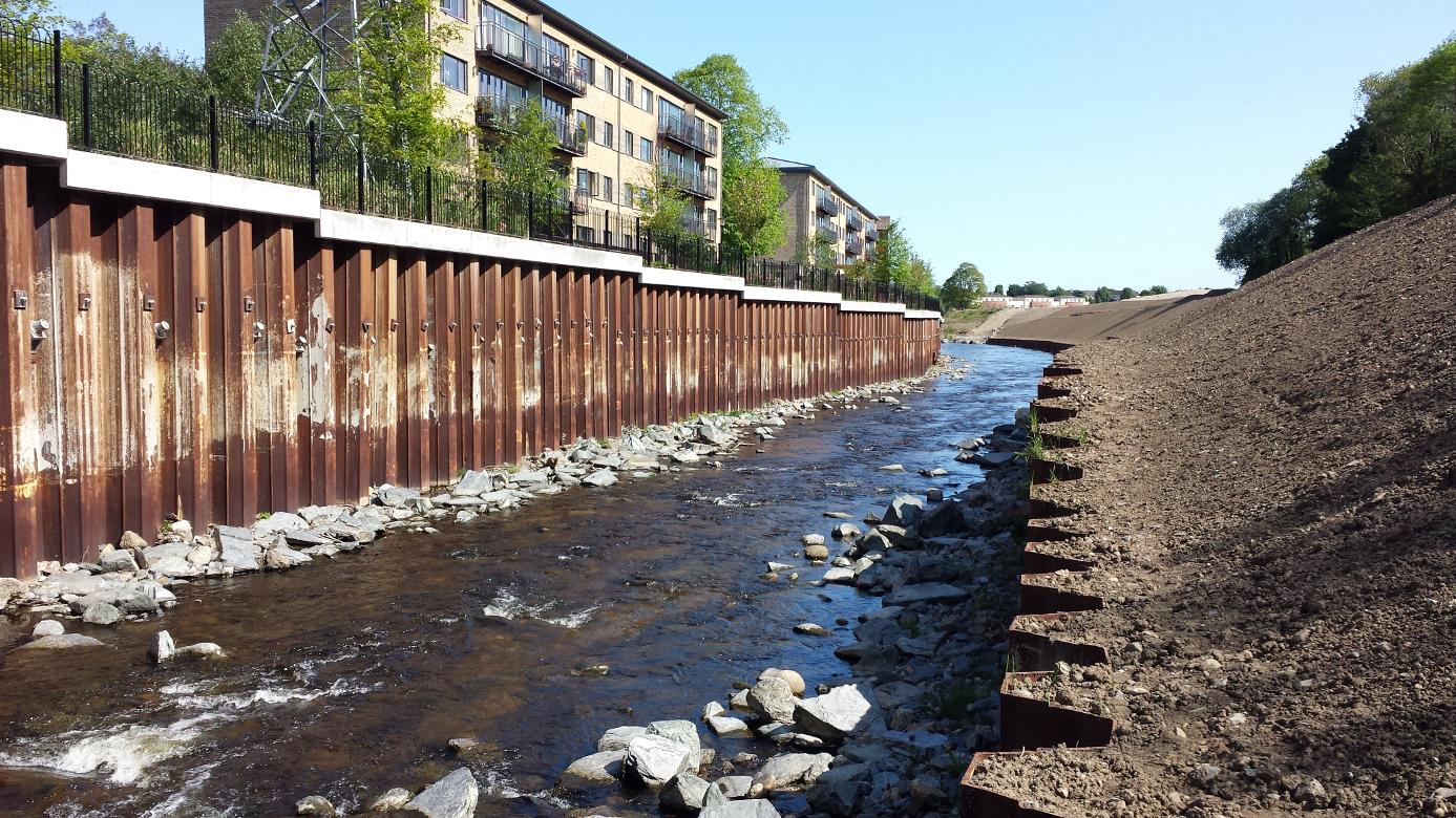 Agl Consulting River Dargle Flood Defence Scheme La Vallee